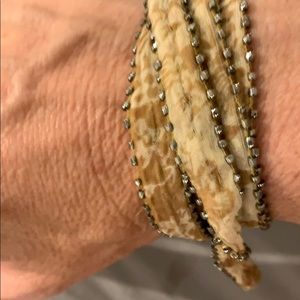 Chan Luu Jewelry - Silk wrap for neck or wrist by Chan luu